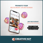 How to promote your restaurant on instagram? |10 Tips| Creative Hut Advertising LLC
