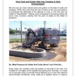 How Curb and Gutter Help Into Creating A Safe Environment?