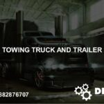 Towing Truck and Trailer