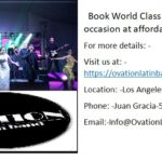 Book World Class Latin band for occasion at affordable rates.