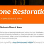 How To Maintain Natural Stone