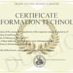6 Top Information Technology Certificates You Must Know About