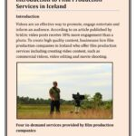Introduction to Film Production Services in Iceland